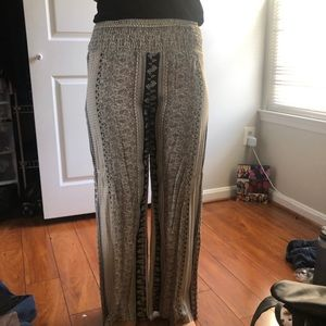 Pants with Stretchable Waistband
